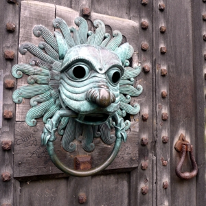 Knocker, Brougham Hall