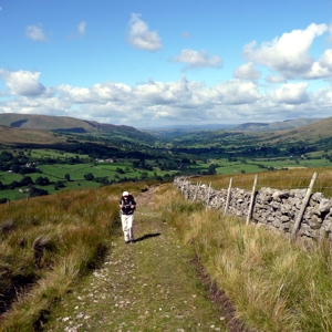 Climbing from Dentdale on the Craven Way