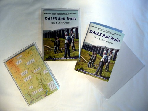 Each copy of Dales Rail trails comes with a handy weather-resistant plastic wallet