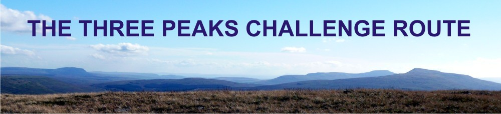 Yorkshire Three Peaks Challenge Route