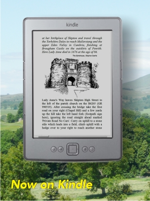 Special Kindle edition of Lady Anne's Way