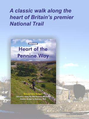 Heart of the Pennine Way - 165 miles from Hebden Bridge to Hadrian's Wall along the Mid Pennine Way