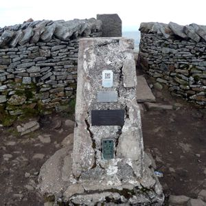 Whernside summit trig point